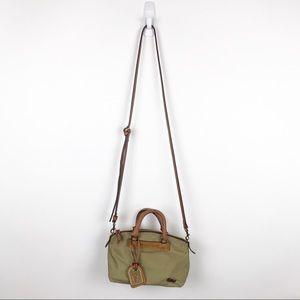Dooney & Bourke Small Nylon Leather Crossbody